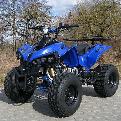 125cc Kinder Miniquad S10 Streethummer blau Benzin Mini Quad Pocket ATV Kids NEU