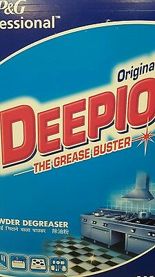 Deepio Kitchen Degreaser Powder Grease Buster 6kg P&G Professional NEW