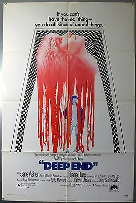 Deep End - Jane Asher / Diana Dors - Original American One Sheet Movie Poster