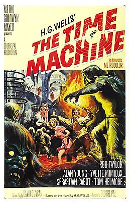 """THE TIME MACHINE"" (H.G. Wells) - Full size US Movie Film Poster"