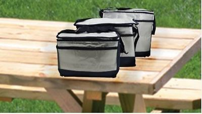 Thermal Insulated Cooler Cool Picnic Bag Lunch Small Medium Large Storage Carry