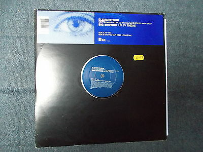 "Element Four Big Brother UK TV Theme 12"" Channel Four Music 2000 C4M00076"