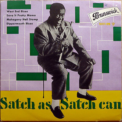 Louis Armstrong - Satch As Satch Can -  Deutschland 1958 - VG++