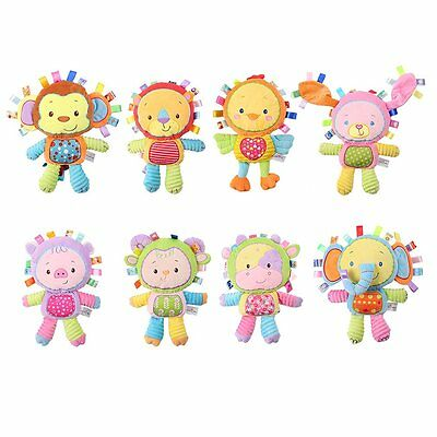 Funny Infant Babies Toy Soft Plush Newborn Baby Early Educational Doll Gifts ZD