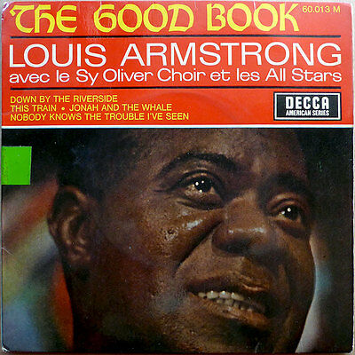 Louis Armstrong - The Good Book - Frankreich 1967 - VG+ to VG+(+)