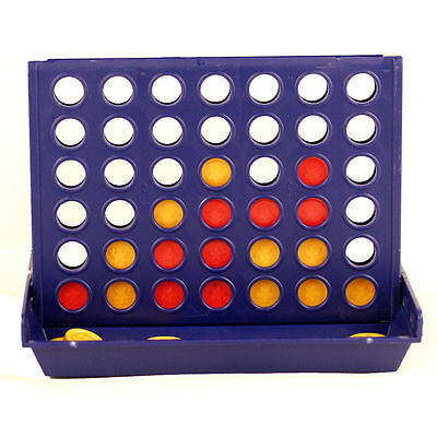 New Connect Four Join 4 In A Row Board Game Family Fun Children Kids Party Game