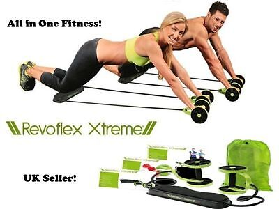 Revoflex Ab Abdomen Strength Training Fitness Total Body Workout Gym Resistance