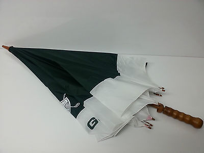Ralph Lauren Umbrella Green/White - Brand New - 100% GENUINE