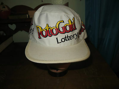 "vintage 80's painter hat/cap truckers hat""POT O GOLD LOTTERY"