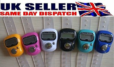 Digital  Finger Ring Hand Tally Counter Clicker Electronic Tasbee Tasbih Golf