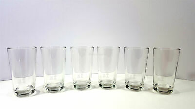 Absolut Vodka Glas 6er Set - geeicht 2/4cl