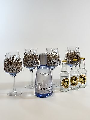 Gin Mare Gin Tonic Set - Gin Mare Gin 700ml (42,7% Vol) + 3 Thomas Henry Tonic W