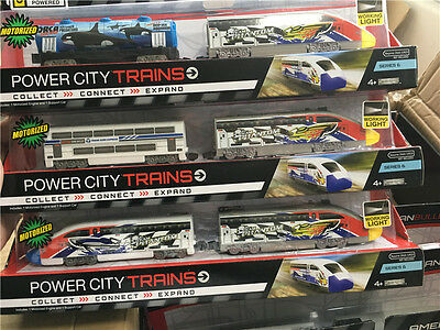 Jakks Pacific Power City Trains 30cm Electric Trains Random Sending New