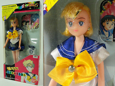 Sailor Moon S - Uranus Doll - Toei Bandai 1994 - New Mint In Japanese Box