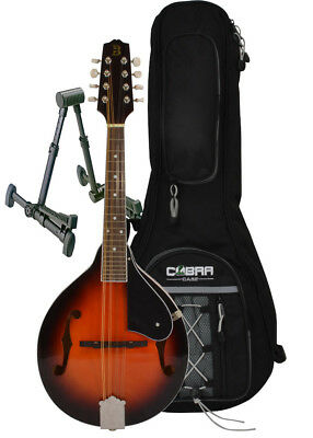 Mandolin A Style, Gig Bag and Stand by Bryce