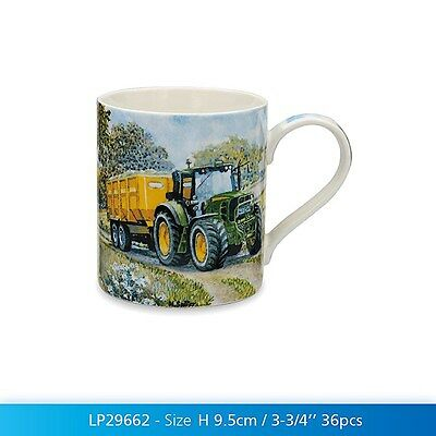 John Deere Tractor Mug Gift Boxed Farming Kitchen China Drinking Cup