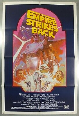 The Empire Strikes Back - Star Wars - Original American One Sheet Movie Poster