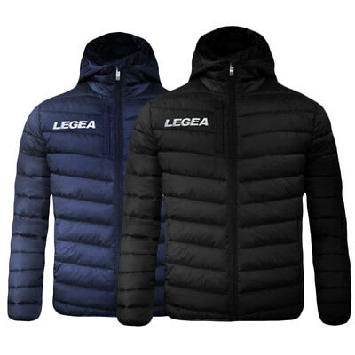 Giubbotto Giacca Piumino Legea Montreal Fashion Jacket Training Calcio Fitness