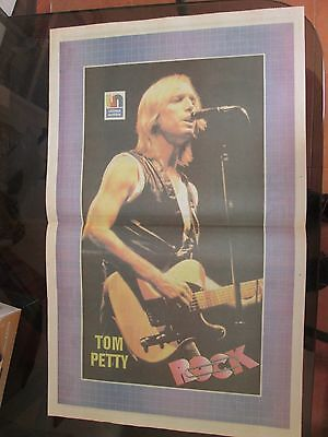 Tom Petty Musicians Celebrity Poster 1989