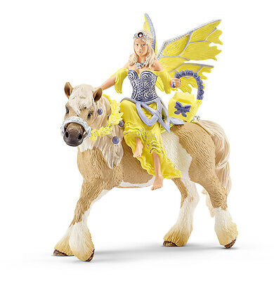 Schleich 70503 Sera in Festive Clothing Riding Bayala Toy Elf & Horse - NIP