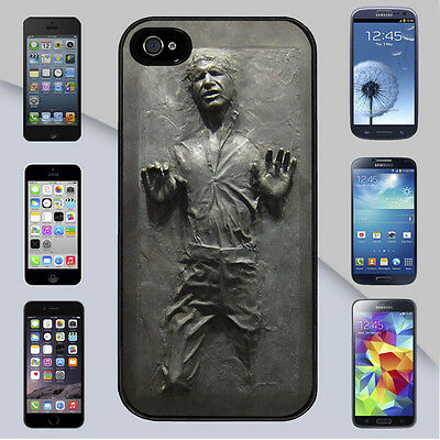 Star Wars Han Solo Carbonite for iPhone & Galaxy Case Cover (2D)