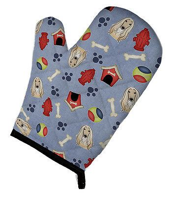 Carolines Treasures  BB4023OVMT Dog House Collection Afghan Hound Oven Mitt