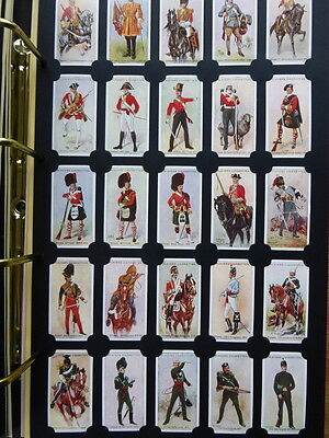 *8* Card Collectors Society FULL Reproduction Set *REGIMENTAL UNIFORMS*  1912