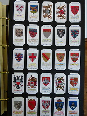 *6* Card Collectors Society FULL Reproduction Set *ARMS OF FOREIGN CITIES* 1912