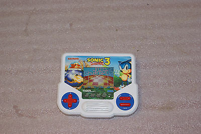 1988 LCD Tiger Electronic Sonic 3 Handheld Game