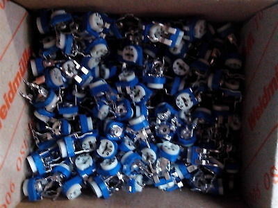 10-100x Trimmpotentiometer 100Ohm- 1M Ohm, 100mW, Poti. einstellbarer Widerstand