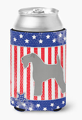 USA Patriotic Kerry Blue Terrier Can or Bottle Hugger
