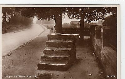 LOUPIN ON STANE, ABERLADY: East Lothian postcard (C4937).