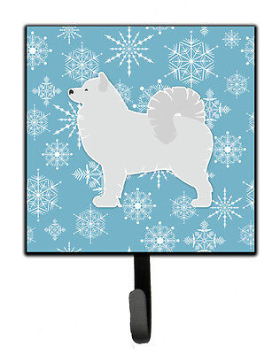 Carolines Treasures  BB3559SH4 Winter Snowflake Samoyed Leash or Key Holder