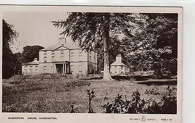 ALDERSTON HOUSE, HADDINGTON: East Lothian postcard (C6386).