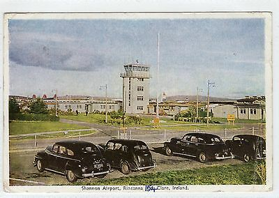 SHANNON AIRPORT: Co. Clare postcard (C5139).