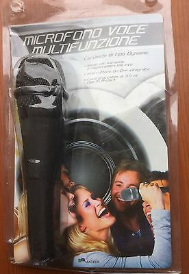 Multifunction Voice Microphone - Ideal For Karaoke Or Live