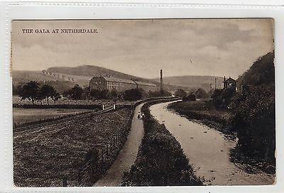 THE GALA AT NETHERDALE: Selkirkshire postcard (C6605).