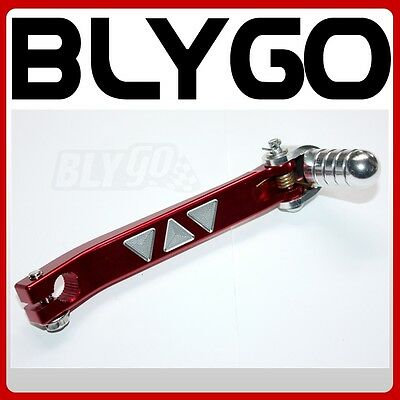 11mm RED CNC Alloy HD Gear Lever Shifter Handle 110cc 125cc PIT PRO DIRT BIKE