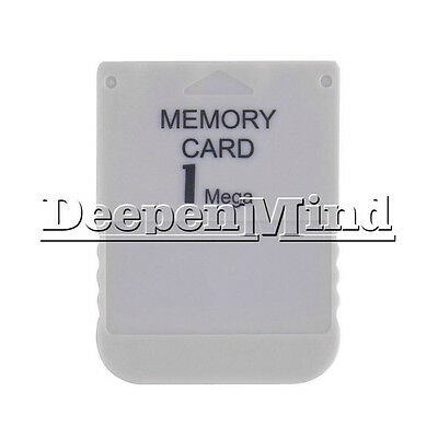 Game Useful Practical Affordable Memory Card For Playstation 1 One PS1 PSX