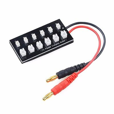 Use With Stock Celectra Charger mCP-X Parallel Adapter 6X E-Flite Blade mCPX