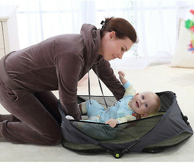 Free Shipping Portable Baby Bed Folding Travelling Cradles Crib Safety Bassinet