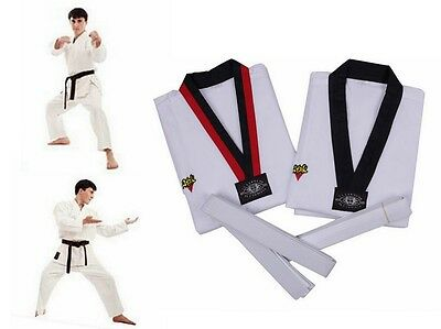 Tae Kwon Do Uniform White Belt Lightweight Karate Atak Taekwondo Professional
