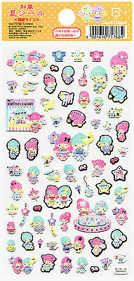 "Sanrio Little Twin Stars ""Summer"" Washi Paper Stickers (2014)"