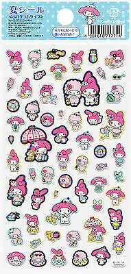 "Sanrio My Melody ""Summer"" Holographic Stickers (2014)"