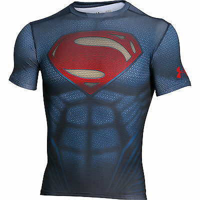 Under Armour Alter Ego Superman Body Compression Baselayer Shirt