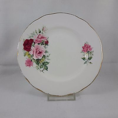 Vintage Duchess Replacement Side Plate Red and Pink Roses