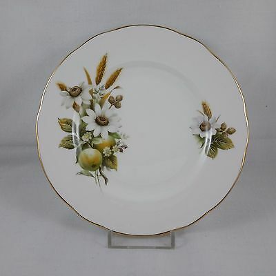 Vintage Duchess Replacement Side Plate White Flowers Fruit and Wheat
