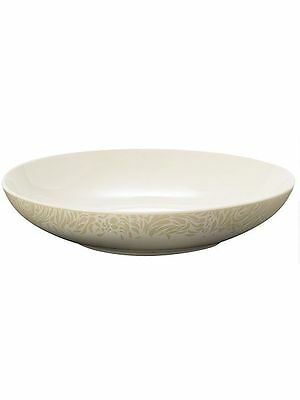 Denby Monsoon Lucille Gold Pasta Bowl 24.5cm, RRP £12.00, NEW, 1ST QUALITY