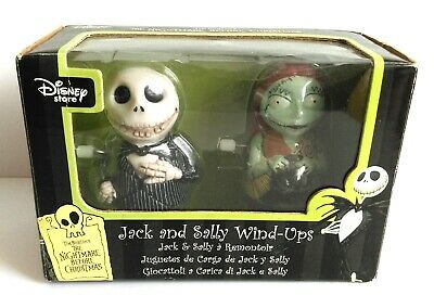 The Nightmare Before Christmas Tim Burton Jack and Sally wind up toys