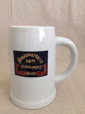 "5 1/2"" Nakazato ""Headquarters 58th Maintinance & Supply Group"" Mug"
